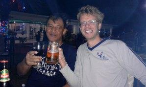 With Zaw Oo, Maungmakan beach