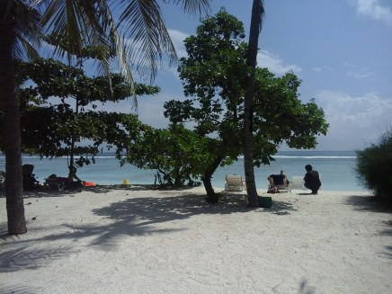 Hulhumale' beach