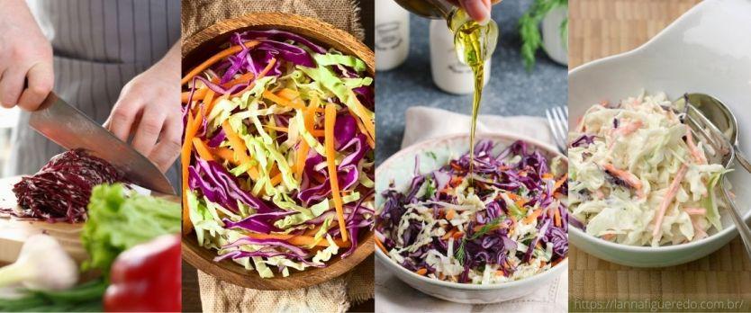 salada de repolho 1024x427 - Salada coleslaw: salada de repolho com maionese
