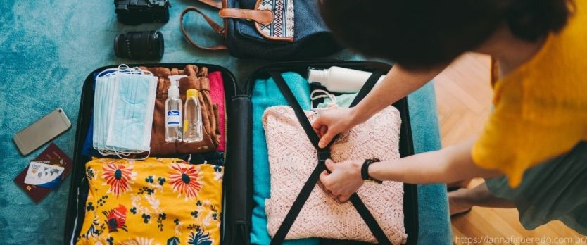 Como planejar uma viagem malas