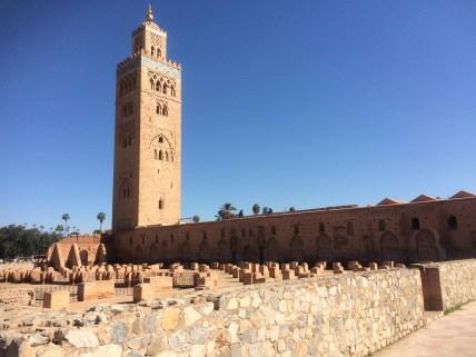 "Koutoubia mosque, described as ""the Eiffel Tower of Marrakech"""