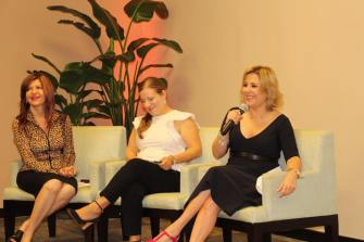 Ana Maria Canseco, Ana Cristina Enriquez y Marybel Torres