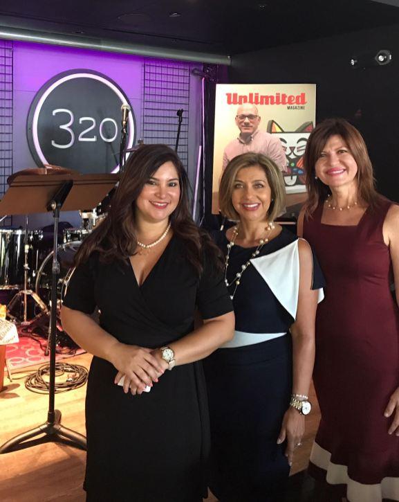 Rosana Cantillo, Ivonne Fernández y Marybel Torres.