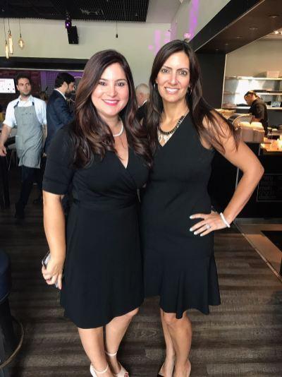 Rosana Cantillo y Jeanette Núñez, miembro de la Camara de representantes del estado de la Florida