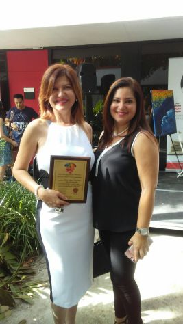 Marybel Torres y Rosana Cantillo.