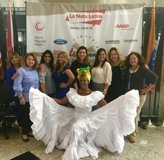Mercedes Prieto, Alexia Ramirez, Rosana Cantillo, Angies Rasch, Alba Acevedo y Kelly Mendoza.