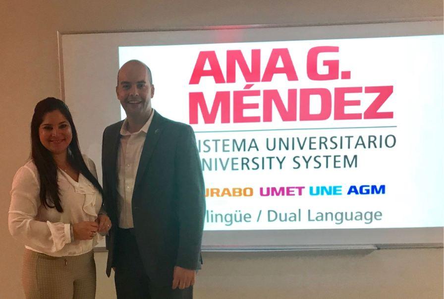 Rosana Cantillo y el alcalde de Miami Lakes Manny Cid