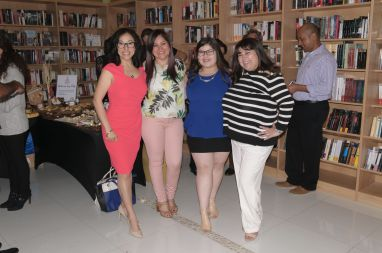 Drelly Rios, Rosana Cantillo, Ashley y Jessica Sotolongo y su bella hija