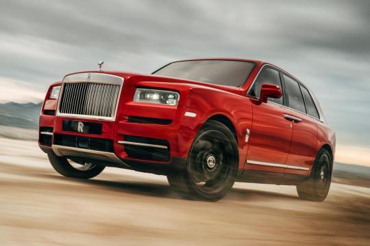 """Rolls Royce presentó el """"Cullinan"""" el primer SUV de la marca Inglesa"""