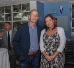 Vojkan Dimitrijevic CEO Brain Center y Tamara Robinett Excutive Director Brain Center.