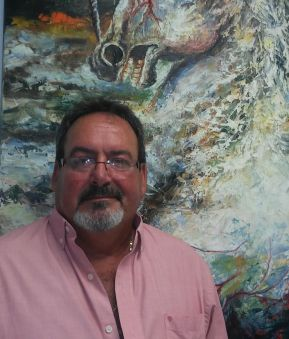 El artista Luis Miguel Rodriguez