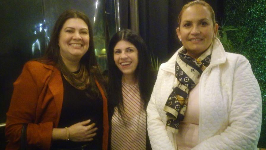 Erika Montero, Gaby Arevalo y Carolina Espinel