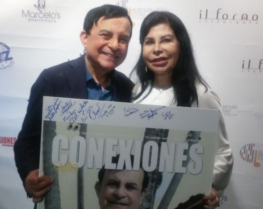 Marcelo's y su esposa