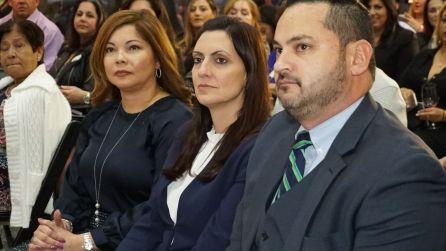 Carla Largaespada, Vicepresidente de FirstBank Florida, la Vicegobernadora Jeanette Nunez y el Councilman Christian Cevallos.