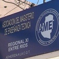 AMET Entre Ríos resolvió no iniciar las clases
