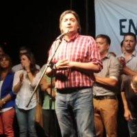 Máximo Kirchner en Paraná. Discurso completo