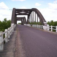 Por reparación de un puente, se interrumpe el tránsito en la ruta 6