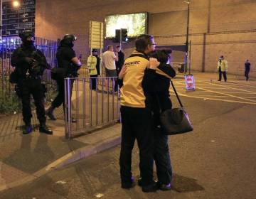 Explosión en el estadio de Manchester