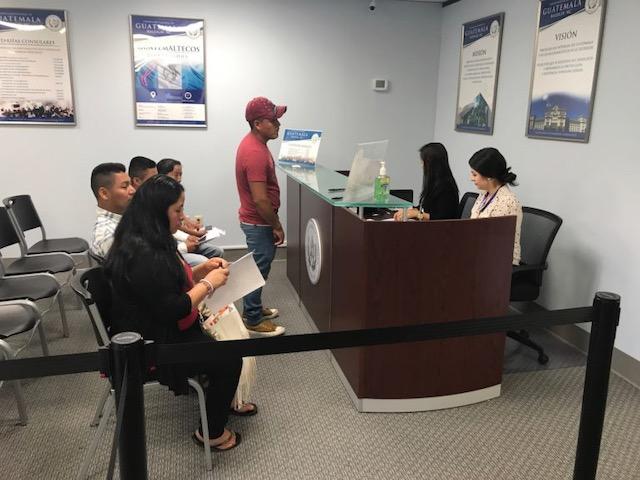 Consulado de Guatemala visita móvil a Charlotte