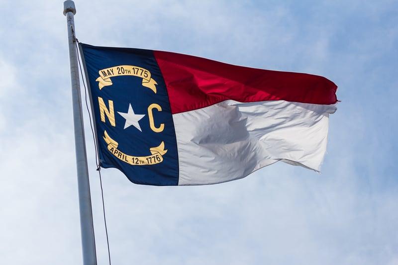 Bandera de Carolina de Norte