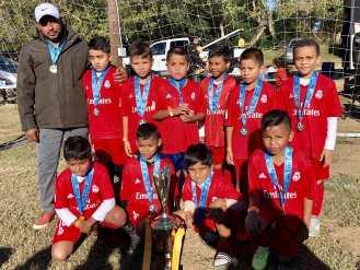Foto del equipo subcampeón Pumas Jr. 2009