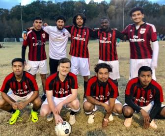 Equipo de fútbol: UNCC