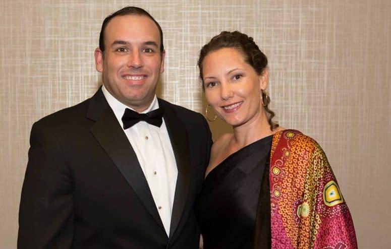 Ana Silva Rey, nueva Directora Ejecutiva de LAWA, junta a su esposo Manuel Rey