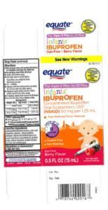 Wal-Mart Ibuprofen