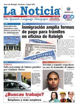 La Noticia Raleigh Edición 359