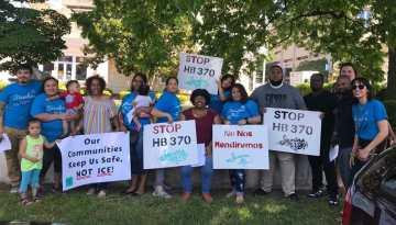 Presionan al alguacil de Guilford a que se pronuncie contra proyecto de ley antiinmigrante