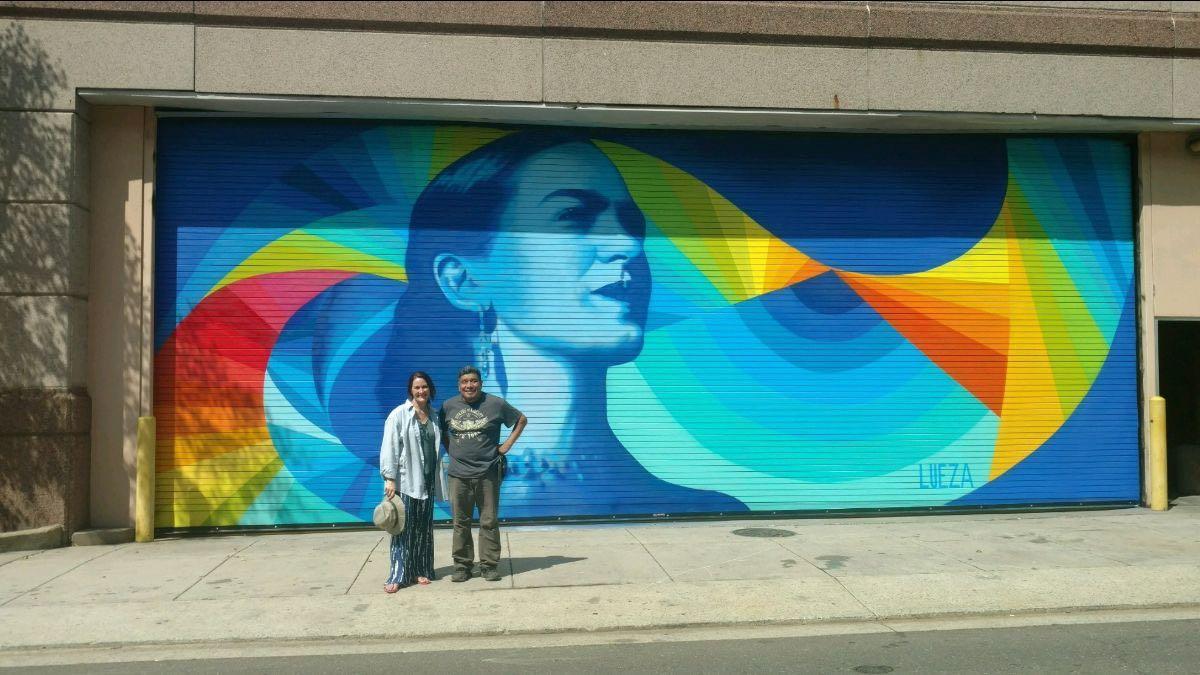 El Museo de Arte presenta murales inspirados por Frida Kahlo y Diego Rivera