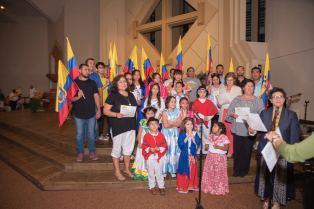 Realizan tradicional celebración a la imagen de la Virgen de la Merced