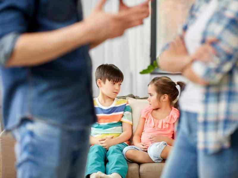 Las consecuencias de los divorcios y las separaciones en los hijos