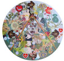Presentan en Charlotte nueva colección de obras de artista boricua