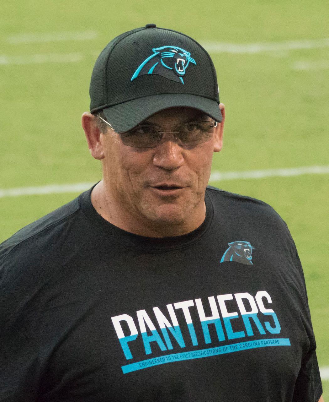 Despiden a Ron Rivera entrenador de los Carolina Panthers