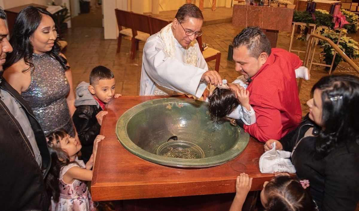 Un bello bautizado