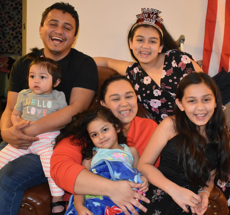Family is saved from being thrown out on the street thanks to community support