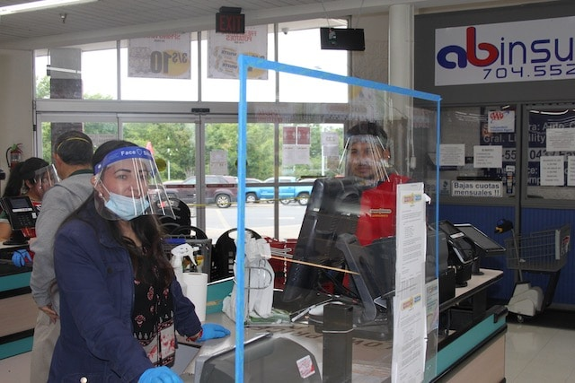 Safety measures Latino supermarkets implement for protection