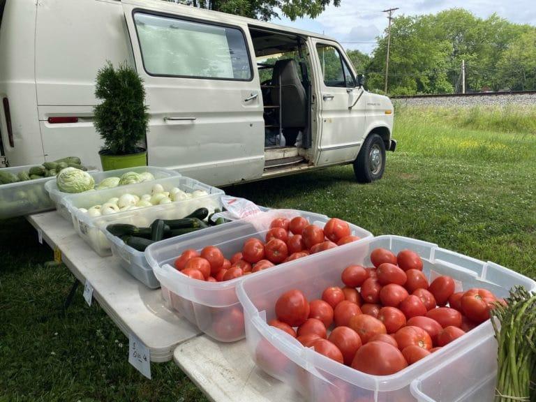 Mercado de agricultores en Harrisburg abre sus puertas