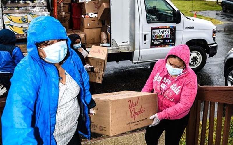 Organización en Asheville ayuda a comunidad en la pandemia