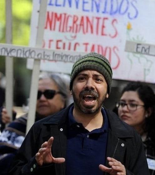 Hector Vaca Action NC Derechos Humanos Human Rights Activism