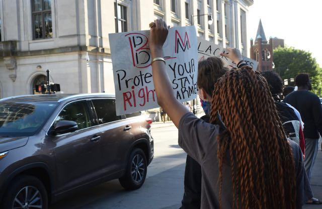 CMPD detendrá temporalmente el uso de la fuerza contra manifestaciones pacíficas