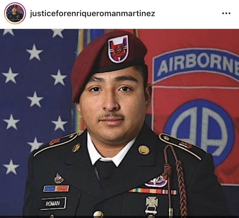 Soldado latino asesinado