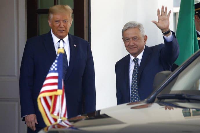 """López Obrador: """"no estamos peleando, somos amigos y continuaremos siendo amigos"""""""