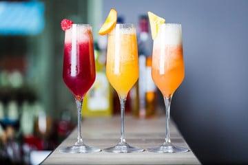 Posecco cocktails