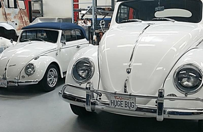 Volkswagen y vocho gigante