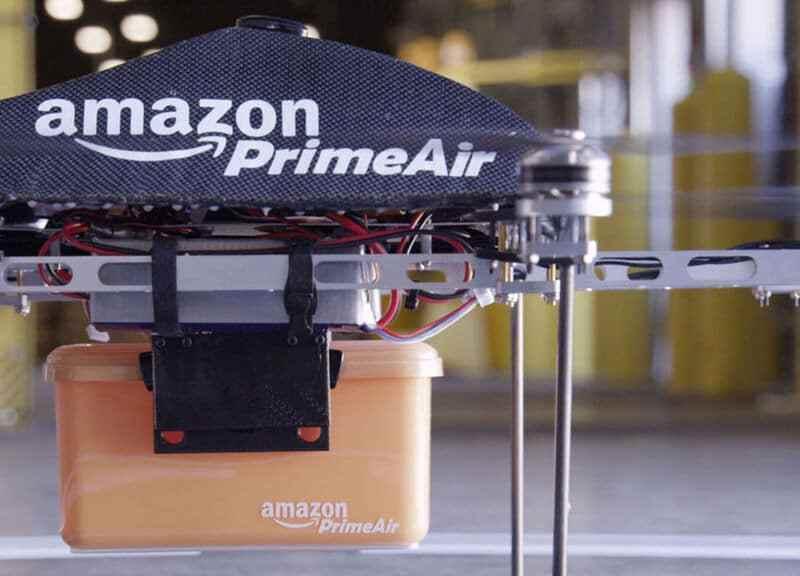 Drones de Amazon para entregas