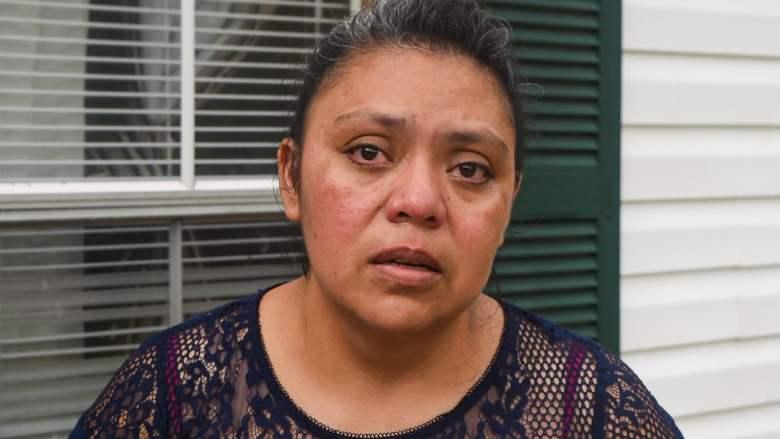 Ana Chagoyán llorando por su hermano