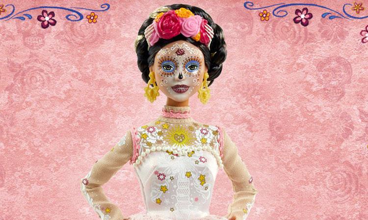 Barbie y Mattel modelo Día de Muertos