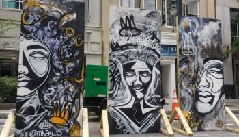Exhibieron arte en Charlotte a favor de Black Lives Matter